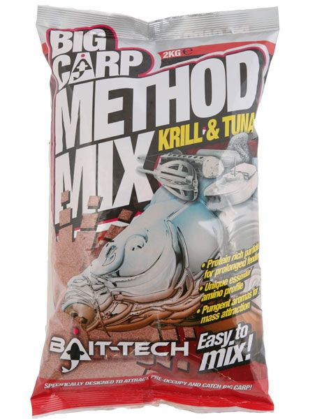 Bait Tech Krill & Tuna Method Mix