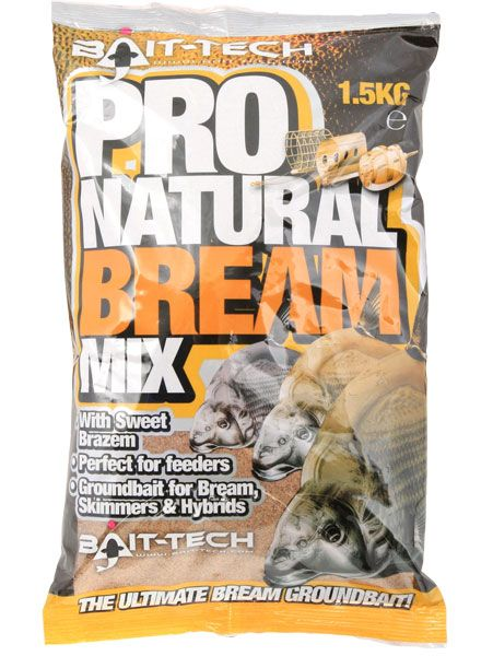 Bait Tech Pro Natural Bream Groundbait
