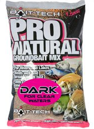 Bait Tech Pro Natural Dark Groundbait