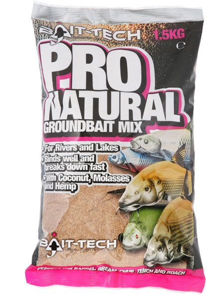 Bait Tech Pro Natural Groundbait