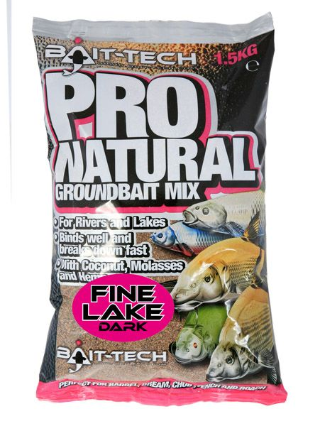 Bait Tech Pro Natural Lake Dark