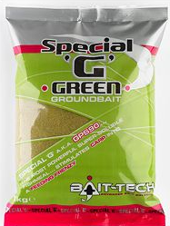 Bait Tech Special G Green and Gold - Soar Tackle