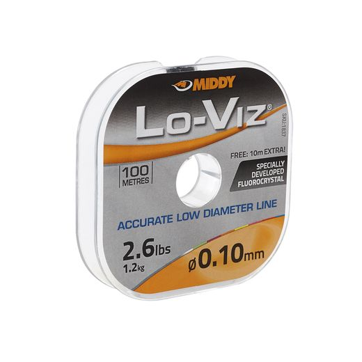 Middy Tackle Lo-Viz Fluorocrystal line - Soar Tackle